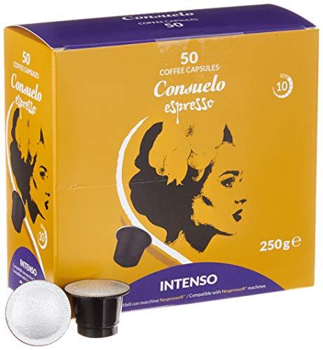 Consuelo Nespresso* kompatible Kapseln – Intenso, 50 Kapseln