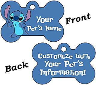 uDesignUSA Custom Double Sided Pet Id Tags for Dogs & Cats Personalized for Your Pet