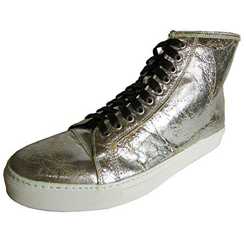 Donald J Pliner Signature Mens Lajos-2020 Sneaker Shoe, Lead, US 8
