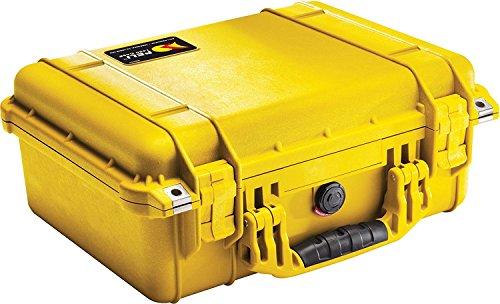 Peli Koffer 1450–000–240E mit Schaumstoff, Gelb