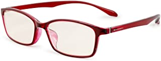 ESCHENBACH 遠近両用 老眼鏡 ブルーライトカット PCビュアー クリアレッド +3.0度 2993-1230