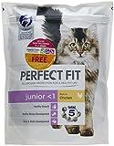 Parfait Fit - Cat complète Nourriture sèche - Poulet - Lot 3 x 750 g Junior