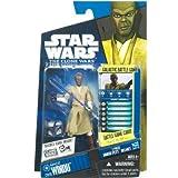 Star Wars Hasbro 2010 Clone Wars 20798 Carded 3-3/4 Inch Mace Windu C-9