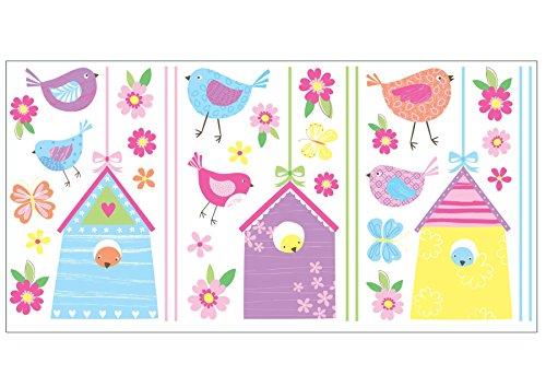 Fun4walls Stickers muraux pour maisons d'oiseaux