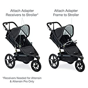 BOB Gear Single Jogging Stroller Adapter for Chicco Infant Car Seats