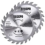 2 pz lame per seghe circolari professionali in carburo di tungsteno 115mm x 10mm, TECCPO T...