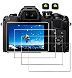 Screen Protector for Nikon D3500 D3400 D3300 D3200 Canon SX500 SX510 SX530,debous edge to edge...