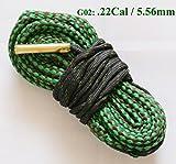 NEW alésage Serpent Pistolet de nettoyage .22 Cal .221 .222 .223 & 5,56 mm Boresnake...