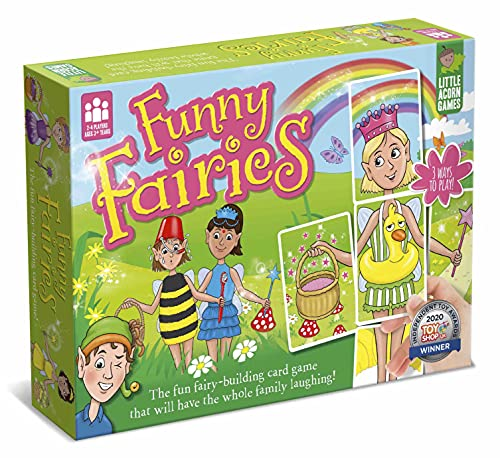 Little Acorn Games AWARD-WINNING Funny Fairies Family Board Game for Kids |...