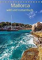 Mallorca - wild und romantisch (Tischkalender 2022 DIN A5 hoch): Mallorca fuer Liebhaber mit tollen Bildern einer Auswahl an Buchten (Monatskalender, 14 Seiten )