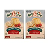 Live G Free Certified Gluten Free Cake and Baking Mix (Angel Food Cake Mix, 2 Pack)
