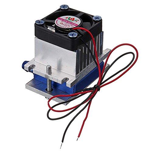 TuToy Termo Eléctrico Peltier Refrigeración Sistema De Enfriamiento Ventilador Kit Diy