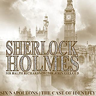 Sherlock Holmes: Six Napoleons & A Case of Identity cover art