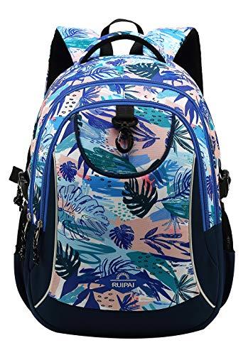 SellerFun Girl Pattern Printed Primary Junior High University School Bag Bookbag Backpack(24 Liters,Muti Color#4)