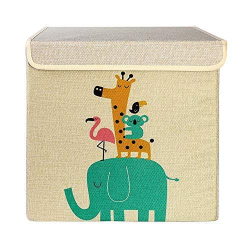 Gofeibao Cajas de Carton almacenaje Cajas de almacenaje Decorativas niños Juguete, Caja...