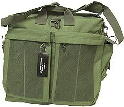 Military Uniform Supply Helmet Bag - Flyer's Bag OLIVE DRAB with Loop Panels