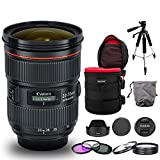 Canon EF 24-70mm f/2.8L II USM Lens Bundle with...