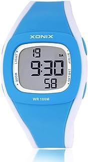 Niños Reloj Alarma Luminosa Impermeable Estudiante niño electrónico Reloj