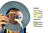 Gibbon Slacklines Flow Line mit Treewear/Baumschutz, Blau-Gelb (Komplettset: 25m:  22,5m Webbing +2 x 2 5cm Ratschenbänder mit je 2,5 Meter Länge) - 8