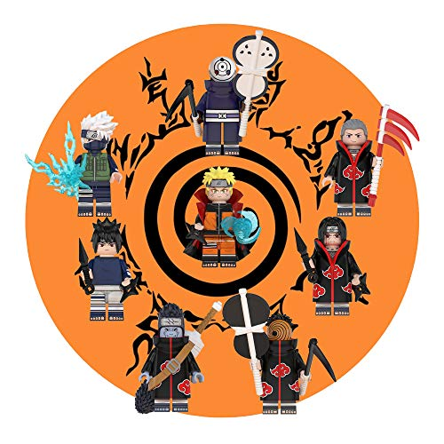 New Anime Ninja Toys - Deluxe Action Heroes from Anime Ninja - Gift for Boys and Girls