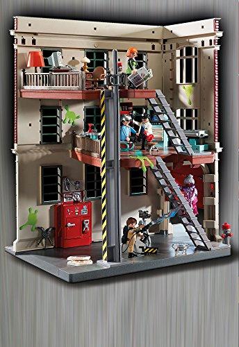 Quartier Général Ghostbusters Caserne de Pompier Playmobil - 9219 - 2