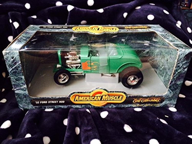 salida para la venta  7850 Ertl American Muscle '32 Ford Ford Ford Street Rod,verde 1 18 Scale Diecast by ERTL  cómodo