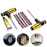 Robluee Reparatur-Set für Autoreifen, Vakuum, Motorrad, elektrisch, Reifen, Reifen, Reparatur-Werkzeug, schnelle Klebstoff, Notbedarf, 1 Set
