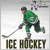 Ice Hockey 2021 calendar: Ice Sport, 18 Months Calendar 2021
