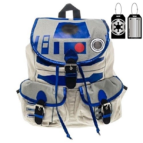 Star Wars R2D2 Knapsack Backpack and Luggage Tag Multi-pack