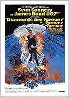 ダイヤモンドは007ジーンコネクタポスター(A1-841x594MM)に接着されています