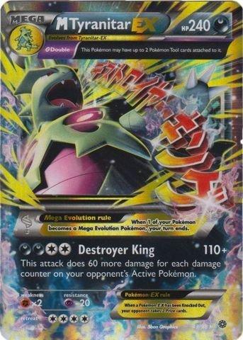 Pokemon - Mega-Tyranitar-EX (43/98) - Ancient Origins - Holo