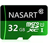 NARAST Micro SD Card 32GB High Speed Class 10 with Free Adapter For Android Smartphones, Tablets (32GB)