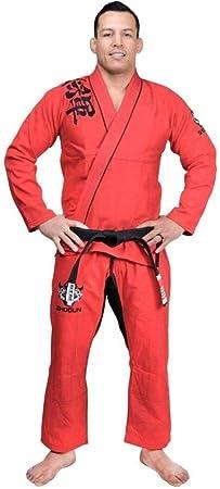 SHOGUN Fight Jiu Jitsu Gi Grand KOI 450g Pearl Weave Cotton Premium BJJ