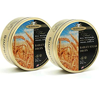 simpkins barley sugar travel sweets 200g (2 pack) Simpkins Barley Sugar Travel Sweets 200g (2 Pack) 51 QvxKEdhL