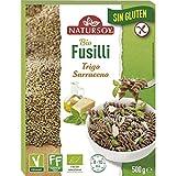 Fusilli Trigo Sarraceno Sin gluten Natursoy 500 g