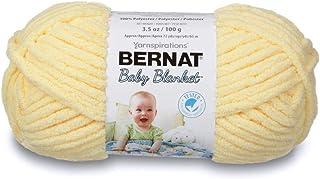 Bernat Yellow Baby Blanket Yarn (03615)