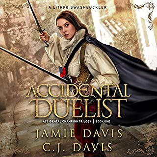 Accidental Duelist     Accidental Champion Trilogy, Book 1              By:                                                                                                                                 Jamie Davis,                                                                                        C.J. Davis                               Narrated by:                                                                                                                                 Stacy Gonzalez                      Length: 10 hrs and 29 mins     107 ratings     Overall 4.5