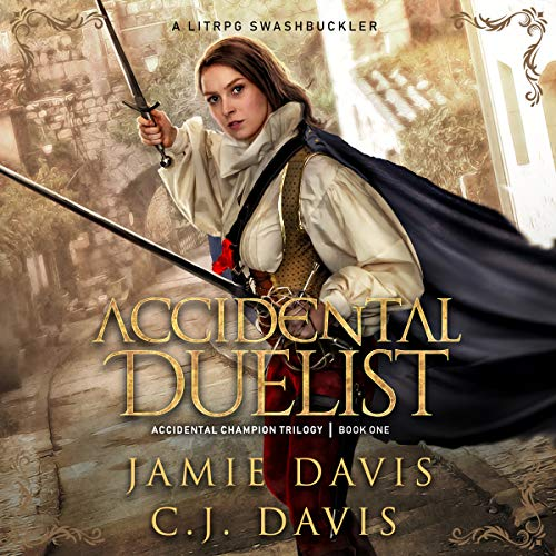 Accidental Duelist audiobook cover art
