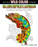 Relaxing Reptiles & Amphibians: Adult Coloring Book (Wild Color) (Volume 1)