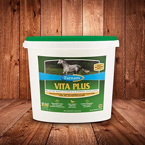Farnam Vita Plus Balanced Multi-Vitamin & Mineral Supplement 7.5 pounds, 60 Day Supply