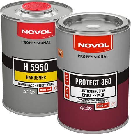 Novol Imprägnier-Kit Epoxid Protect 360 0,8 l + Endator H 5950 0,8 l