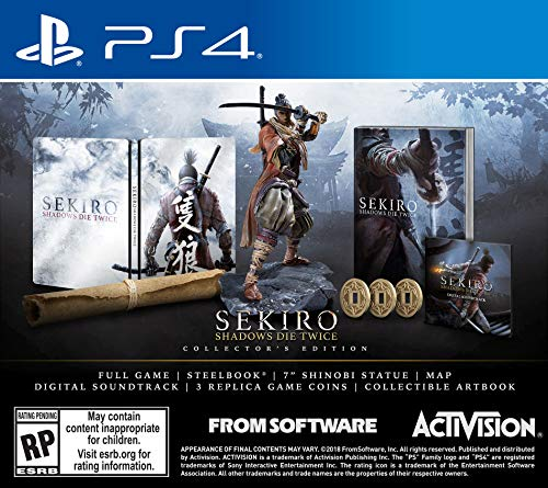 SEKIRO: SHADOWS DIE TWICE EDICION ESPECIAL - Collector's Edition - PlayStation 4
