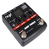 NUX AMP Force Modeling Amp Simulator エレキギター Effect ペダル w/ 3-band EQ エレキギター エレクトリックギター (並行輸入)