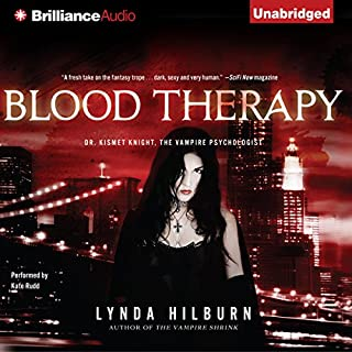 Blood Therapy audiobook cover art