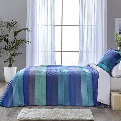 Confecciones Paula - Funda nórdica Ames - Cama 180Cm - Color Azul