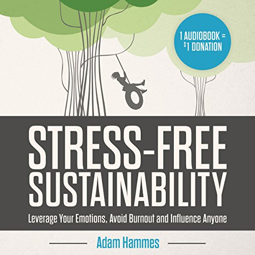 Stress-Free Sustainability audiobook cover art