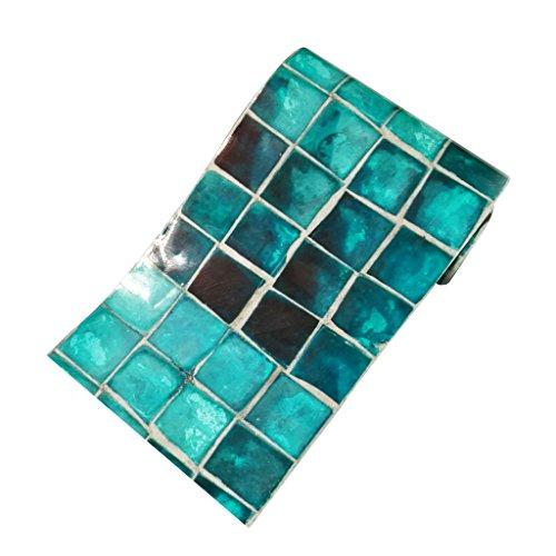 Homyl Mosaik Fliesenaufkleber Fliesenbild Fliesen Aufkleber Sticker Badezimmer Bad Folie, 20x500cm - 003