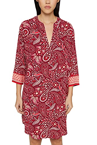 ESPRIT Bodywear Damen GIAVINA 2 NW CVE Nightshirt l-SLV Nachthemd, 612, 40
