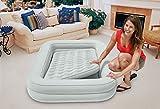 Intex Baby Casa E Viaggio Cm 107X168X25 Matratze mit Handpumpe Playset 962, Minzgrün, 66810NP