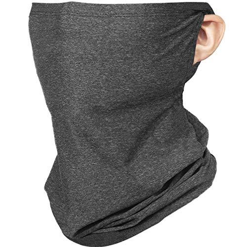 JUSTCOOL フェイスマスク ランニングマスク フェイスカバー ネックゲイター 夏 ネックガード ネックカバー スポーツマスク バイクマスク クール ネック 冷感マスク 夏 UVカット 紫外線対策 吸汗速乾 男女兼用
